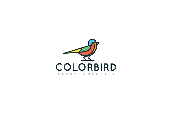 Thumbnail for Colorful Bird Logo