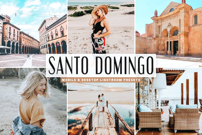 Thumbnail for Santo Domingo Mobile & Desktop Lightroom Presets