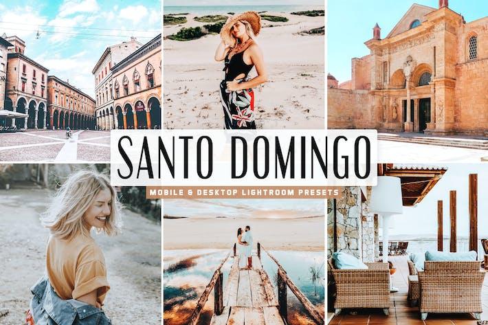 Thumbnail for Пресеты Lightroom для мобильных ПК и настольных ПК Santo Domingo