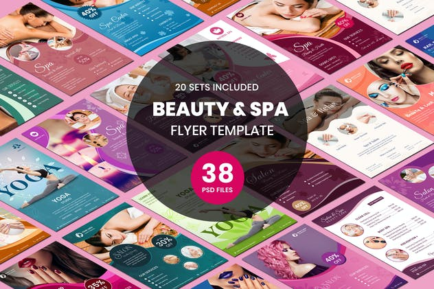 Beauty & Spa Flyer Two Sided Price List