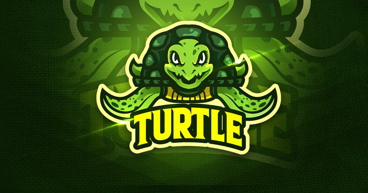 Download Turtle - Mascot & Esport Logo by aqrstudio