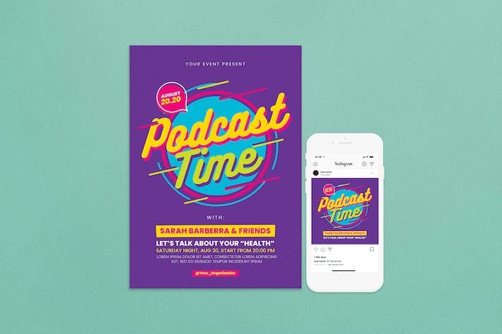 Thumbnail for dépliant pour podcast