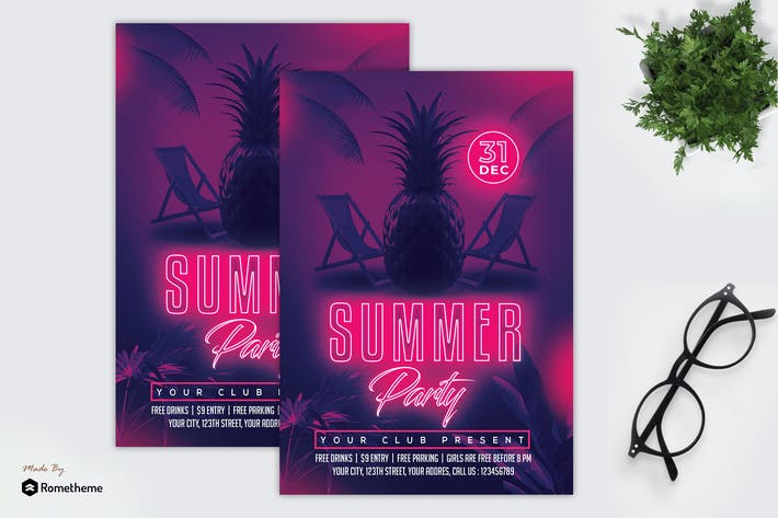 Thumbnail for Summer Party - Flyer MR