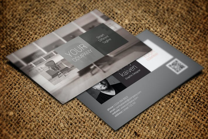 Download 6838 business card templates envato elements thumbnail for modern business card accmission Gallery