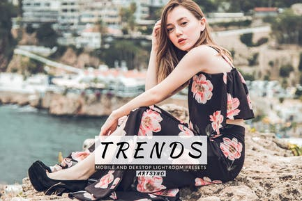 Trends Lightroom Presets Dekstop and Mobile