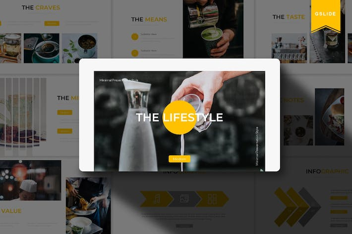 Thumbnail for The Lifestyle | Google Slide Template