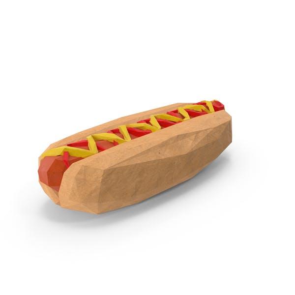 Low Poly Hotdog