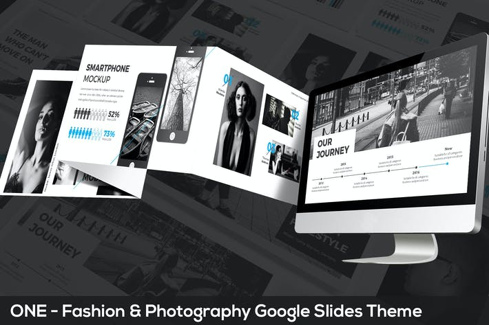 Thumbnail for ONE - Fashion & Photography Google Slides Theme