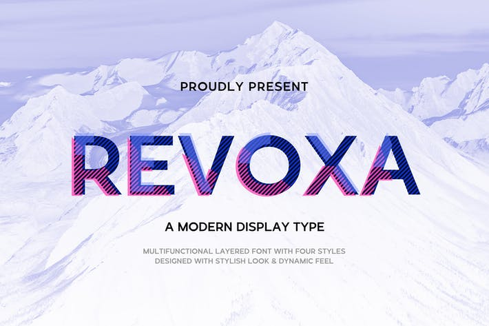 Thumbnail for Revoxa - Modern Display