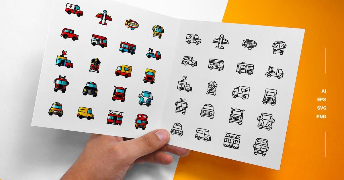 Download Transport - Icons by esensifiksi