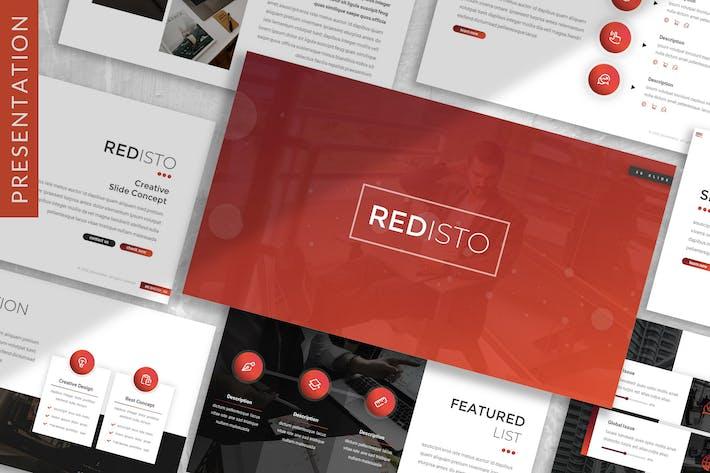 Thumbnail for Redisto - Business Prensentation Template