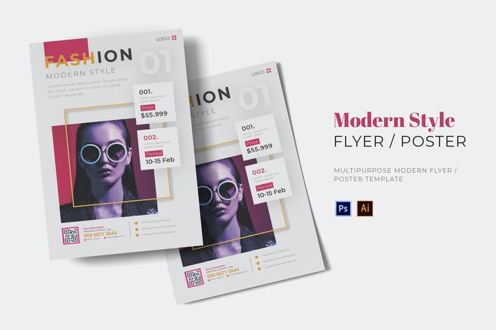 Thumbnail for Modern Style Flyer