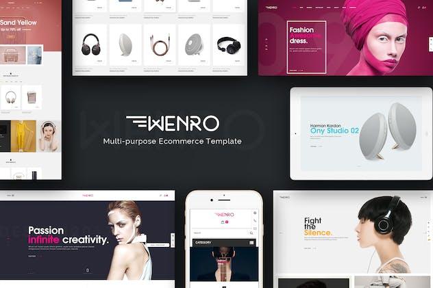 Wenro - Multipurpose Responsive Magento