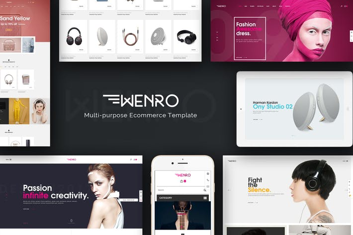 Thumbnail for Wenro - Multipurpose Responsive Magento