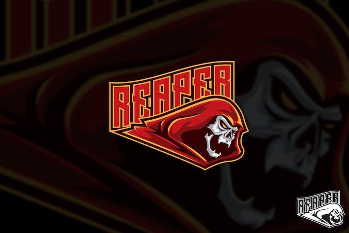 Thumbnail for Red Reaper Vector Logo Mascot