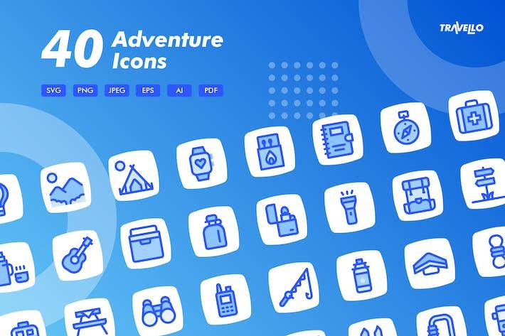 Travello Adventure Icones