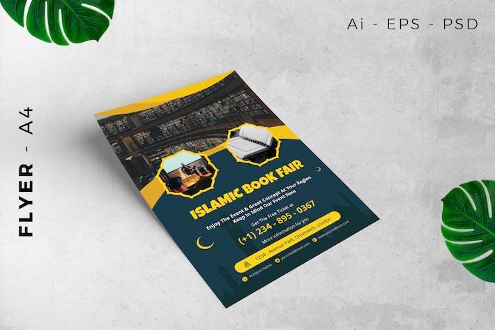 Event flyer - Islamic Book Fair