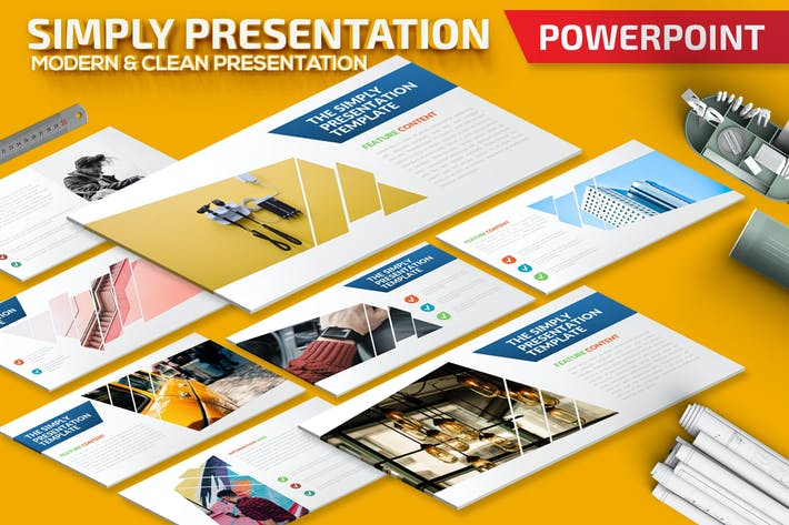 The Simply Powerpoint Presentation Template