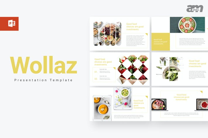 Thumbnail for Wollaz - Creative Powerpoint Template