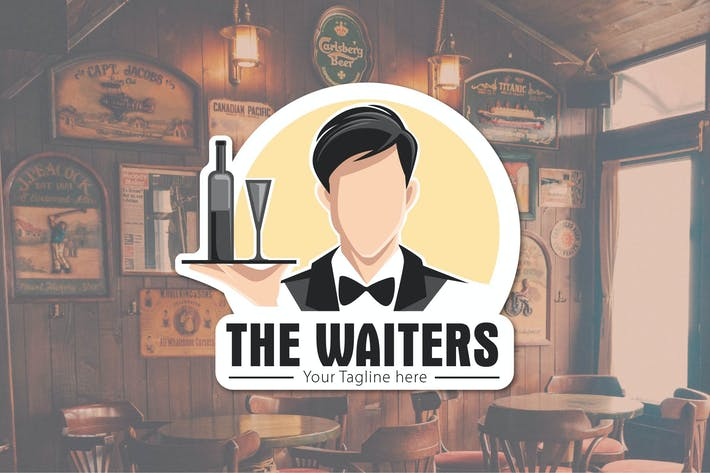 Cover Image For THE WAITERS - Logo Vector