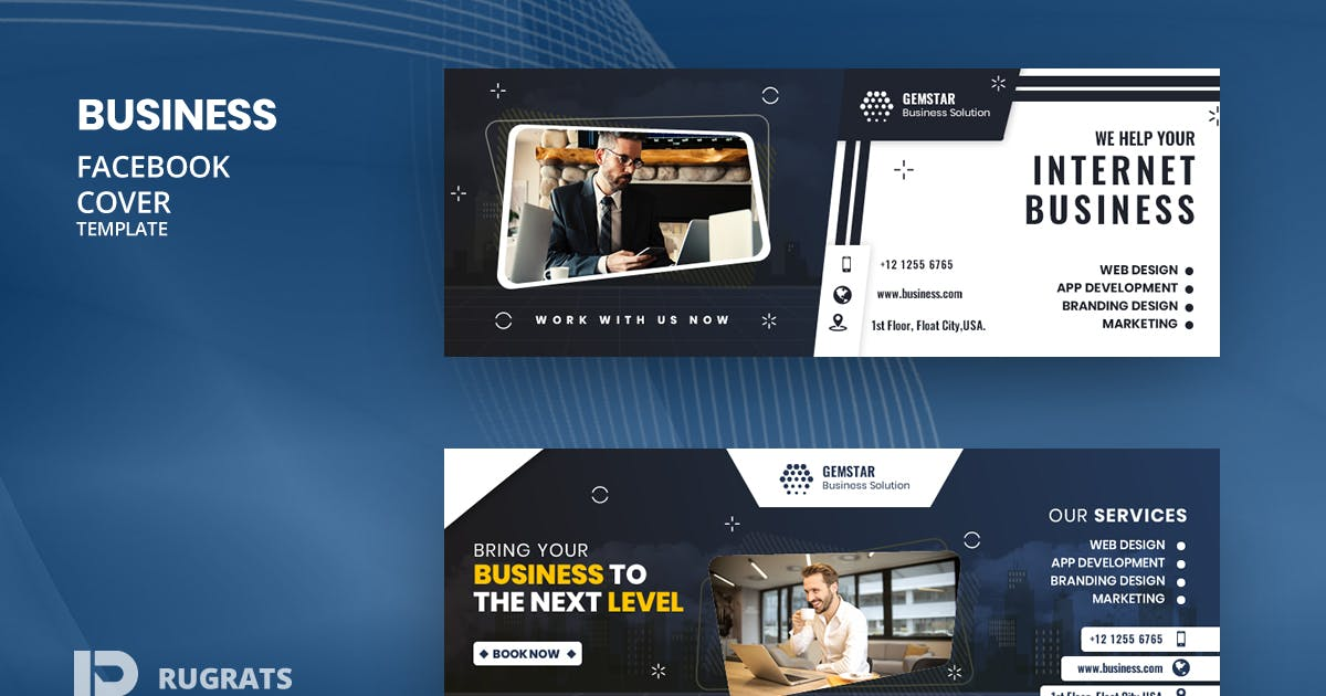 Download Business R10 Facebook Cover Template by youwes