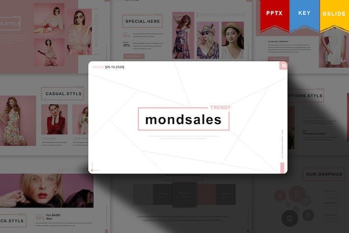 Thumbnail for Mondsales | Шаблон презентации