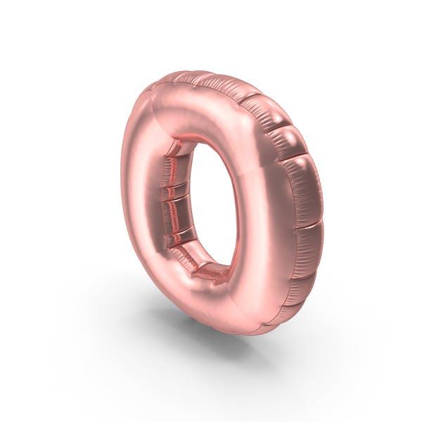 Cover Image for Foil Balloon Letter O