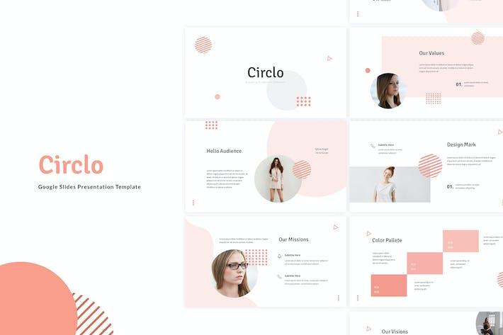 Circlo - Шаблон слайдов Google