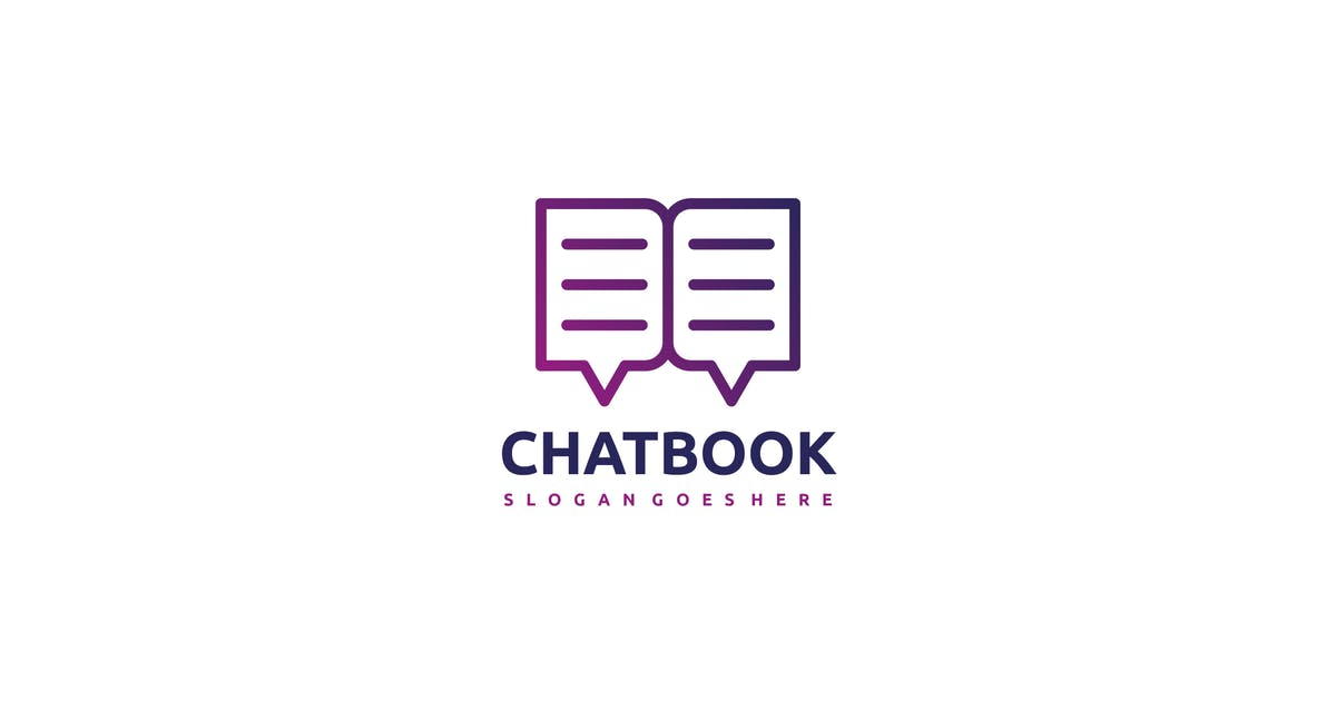 Download Chat Book Logo by 3ab2ou