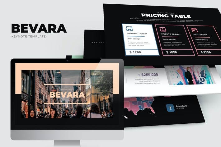 Thumbnail for Bevara : Street Photo Keynote Template