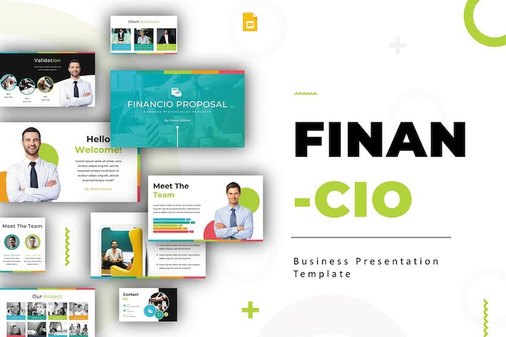 Thumbnail for Financio - Google Slides Template