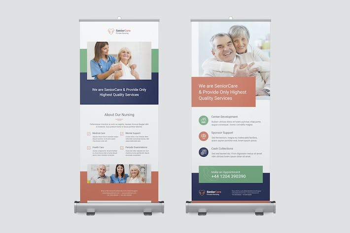 Thumbnail for Roll Up Banner – Senior Care