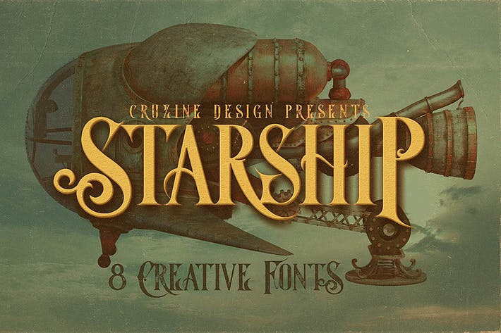 Thumbnail for Starship Typeface