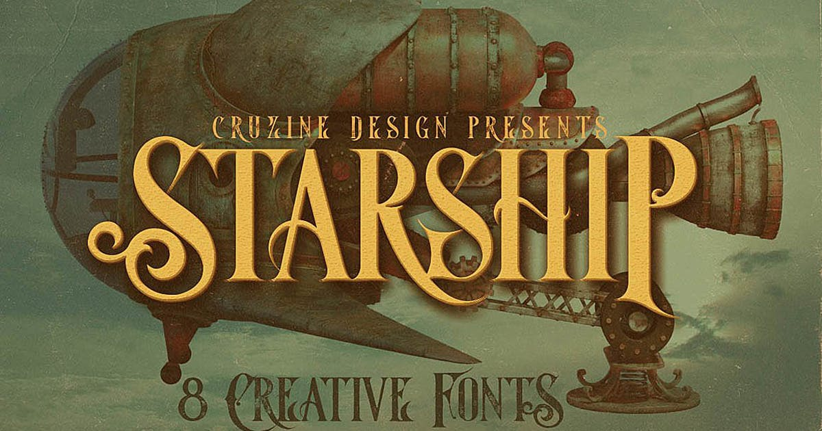 Download Starship Typeface by cruzine