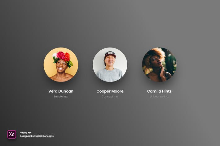 Thumbnail for Team Vol 01 - Adobe XD