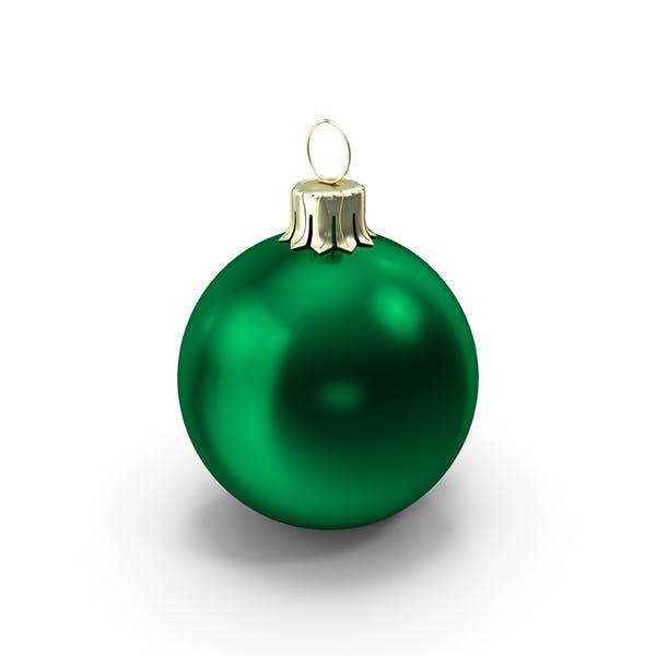 Thumbnail for Standing Green Christmas Ornament