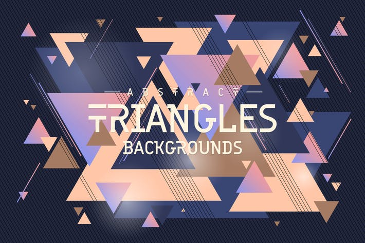 Thumbnail for Triangles Shapes Backgrounds