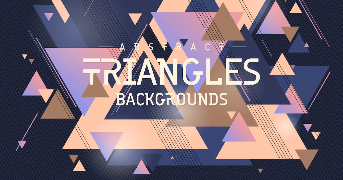 Download Triangles Shapes Backgrounds by themefire