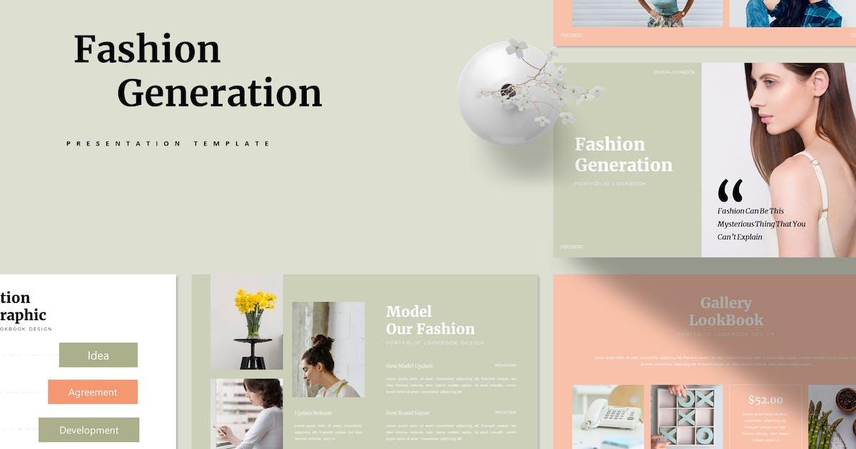 Download Fashion Generation | Presentation Template by Vunira
