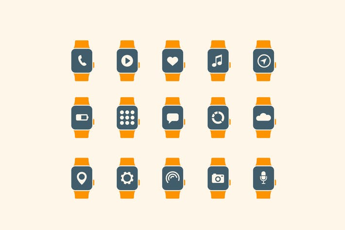 Thumbnail for 15 Smart Watch App Icons