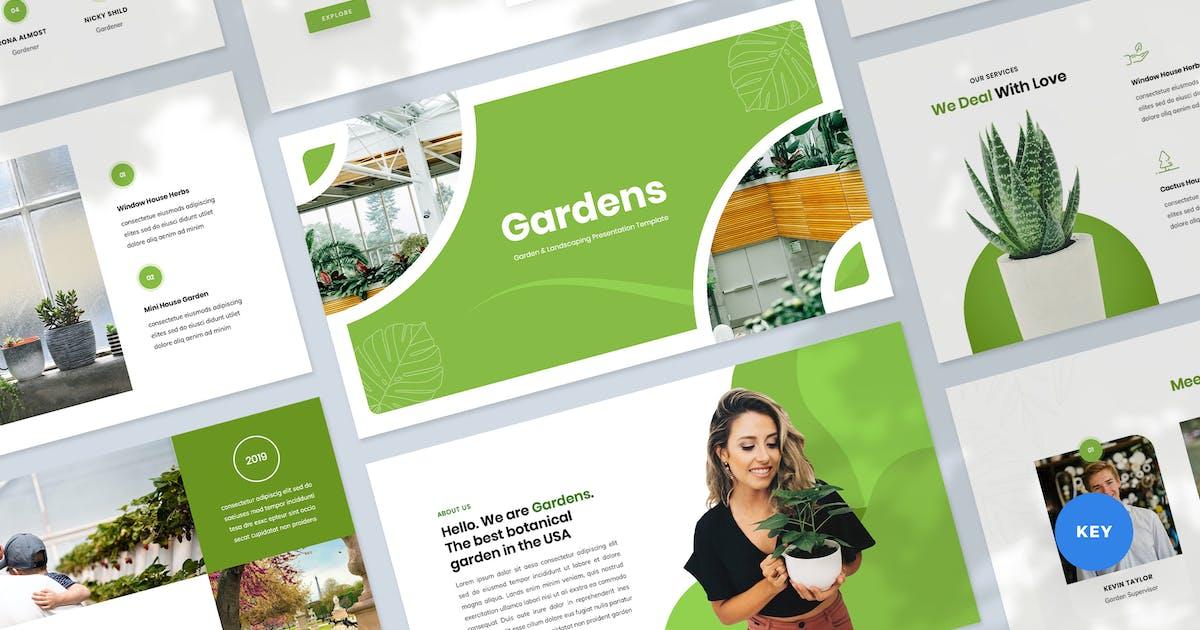Download Garden & Landscaping Presentation Keynote Template by Krafted