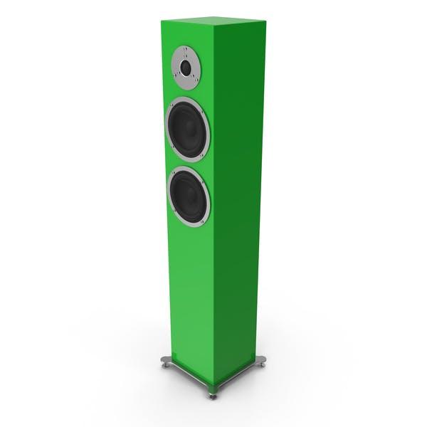 Grüner Boden Lautsprecher