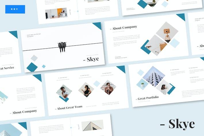 Thumbnail for Skye - Business Keynote Template