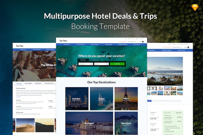 Thumbnail for Travel Trips - Multipurpose Hotel & Trips Booking