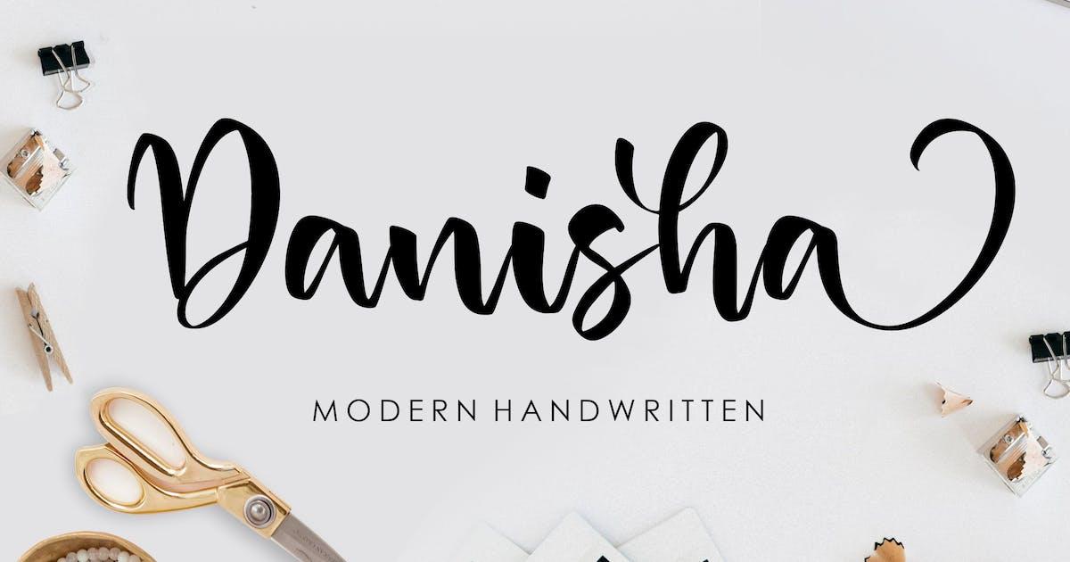 Download Danisha Handwriting Font YH by GranzCreative