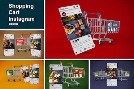 Shopping Cart Instagram