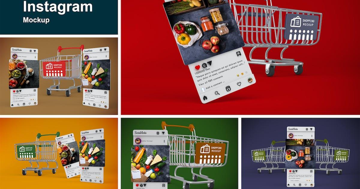 Download Shopping Cart Instagram by QalebStudio