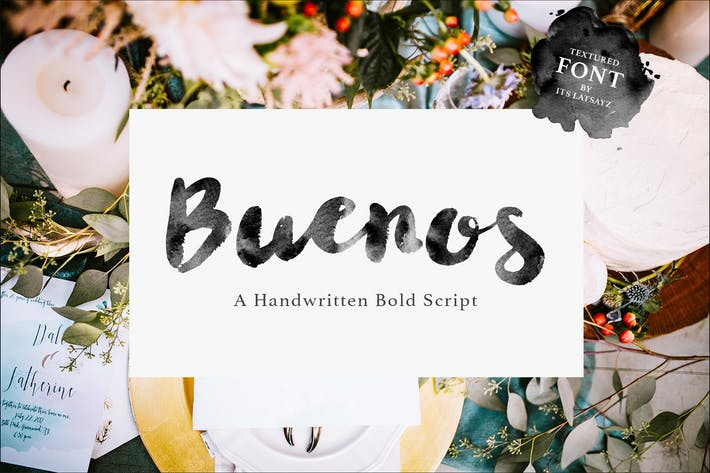 Cover Image For Buenos Script