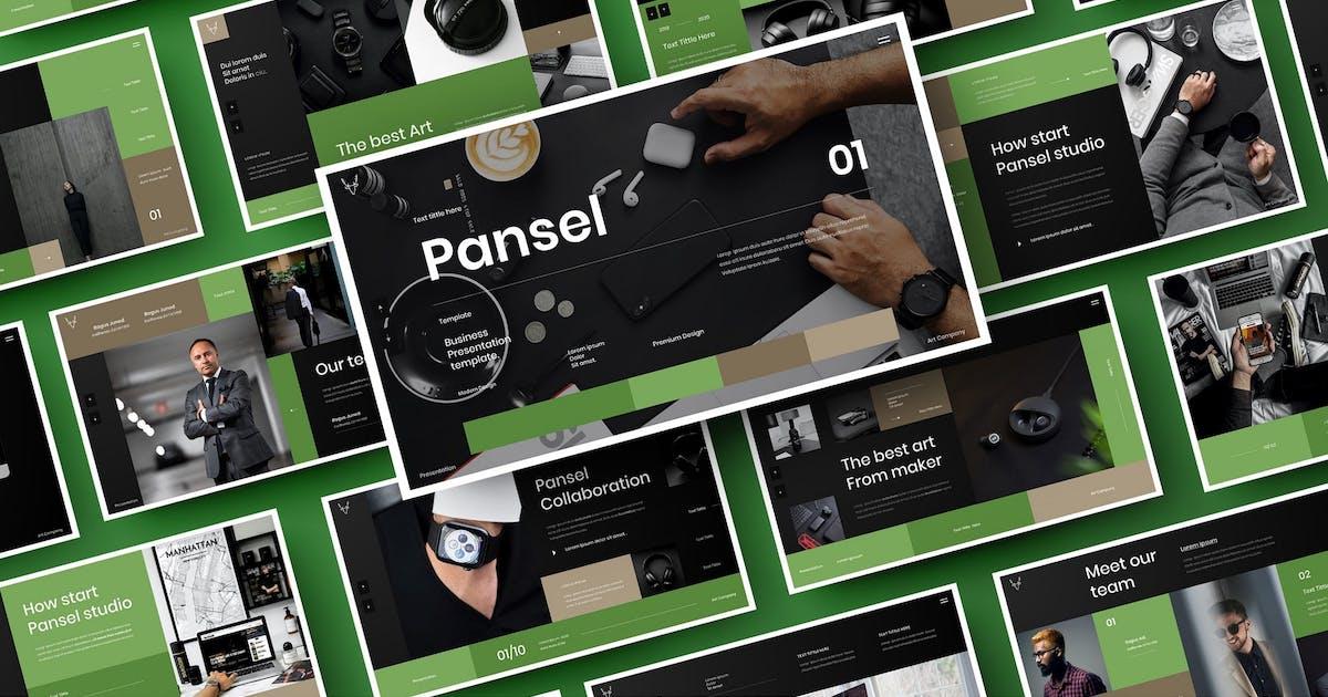 Pansel – Business PowerPoint Template by DensCreativeStudio