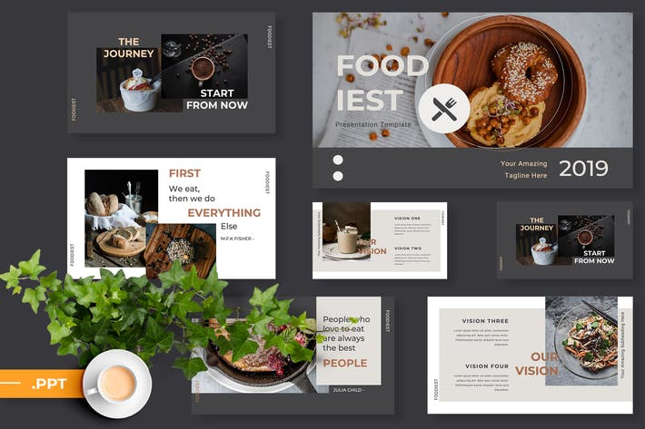 Cover Image For Foodiest Restaurant Powerpoint Presentation